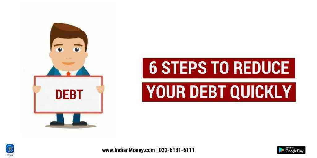 6 Steps to Reduce Your Debt Quickly
