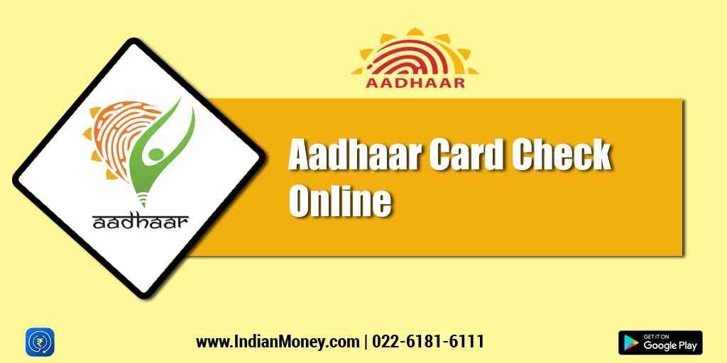 Aadhaar Card Check Online