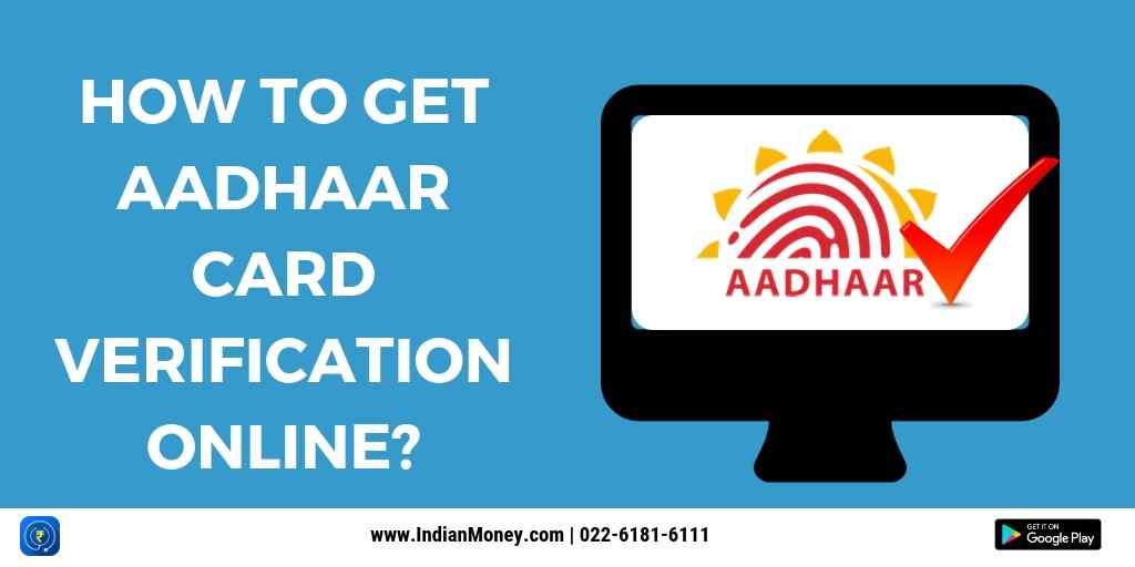 Aadhaar Card Verification Online