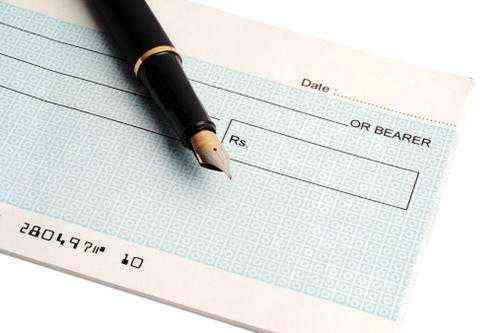 Features of Cheque