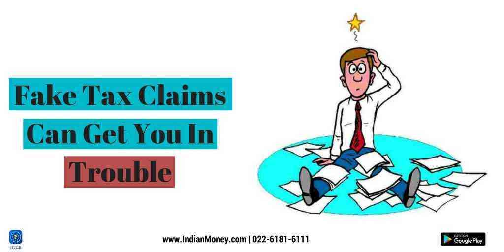 Fake Tax Claims Can Get You In Trouble