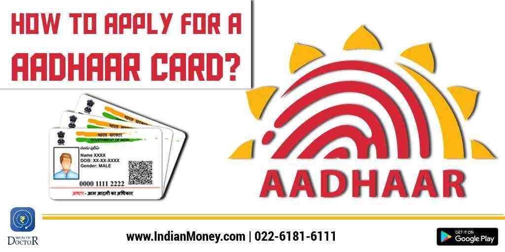 How To Apply For Aadhaar Card?