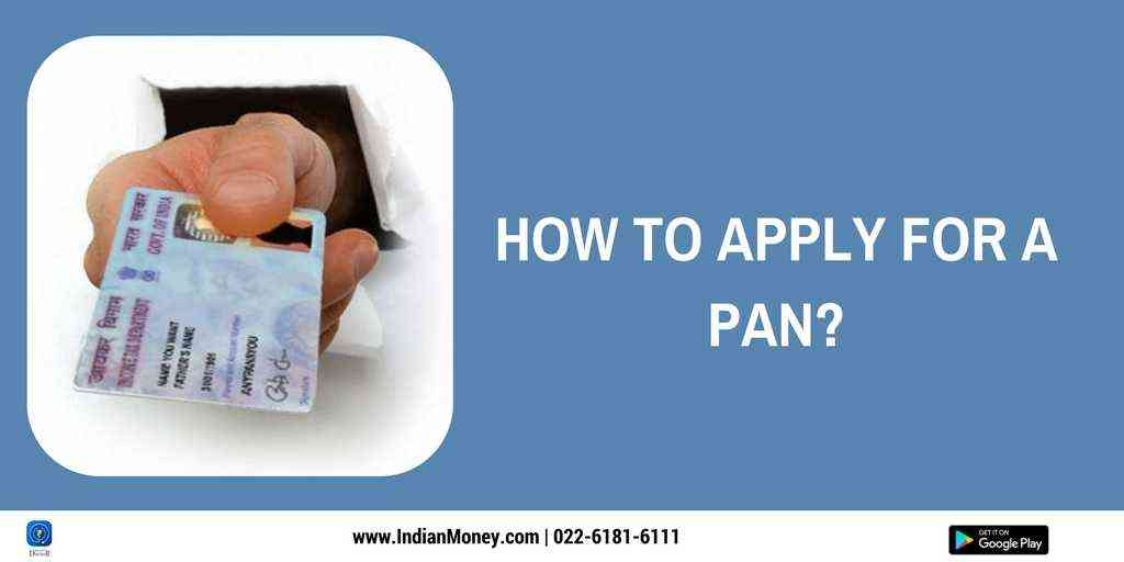 How To Apply For A PAN?