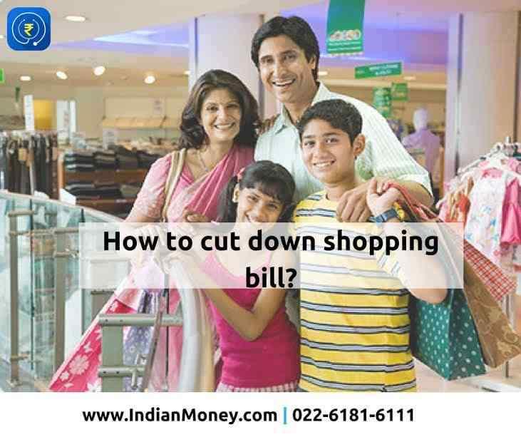 How To Cut Down Shopping Bill?