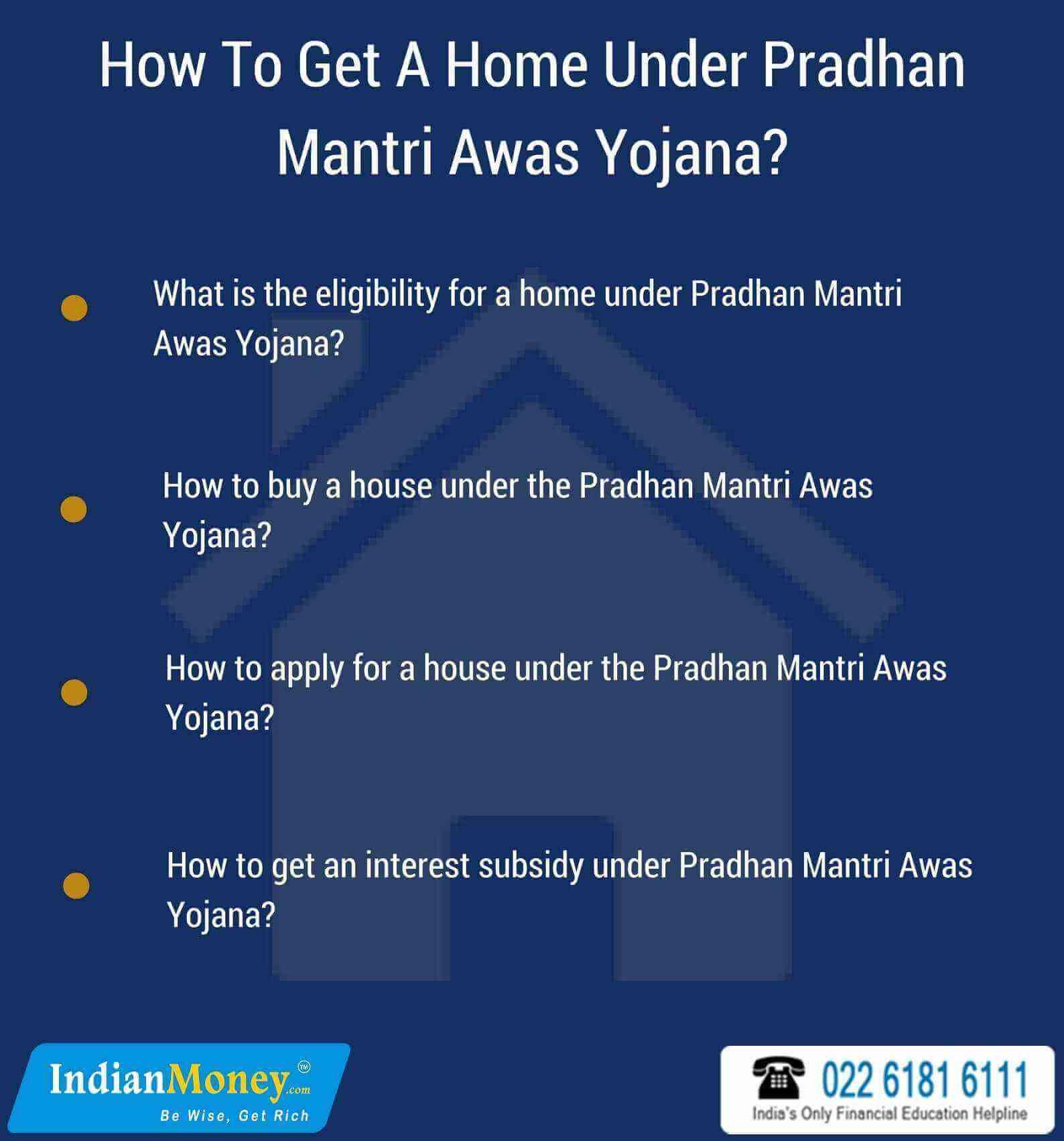 How To Get A Home Under Pradhan Mantri Awas Yojana?