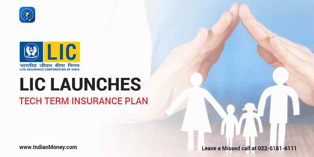 LIC Launches Tech Term Insurance Plan