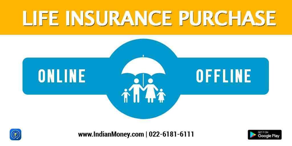 Life Insurance Purchase - Online vs Offline