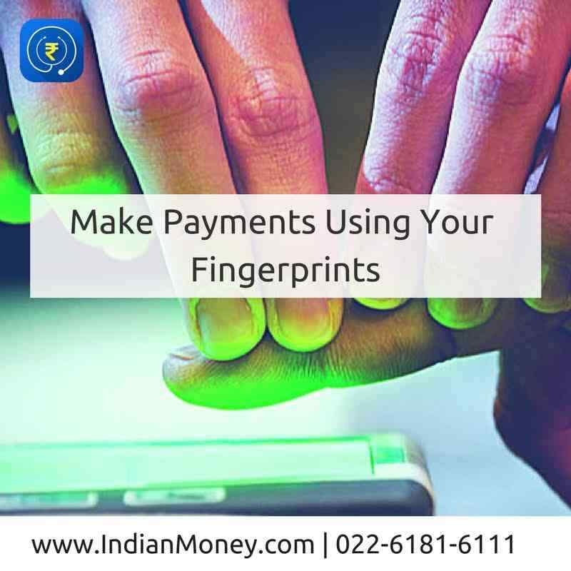 Make Payments Using Your Fingerprints