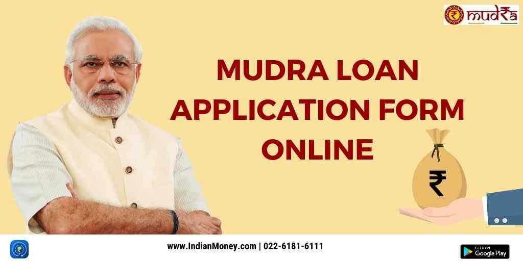 Mudra Loan Application Form