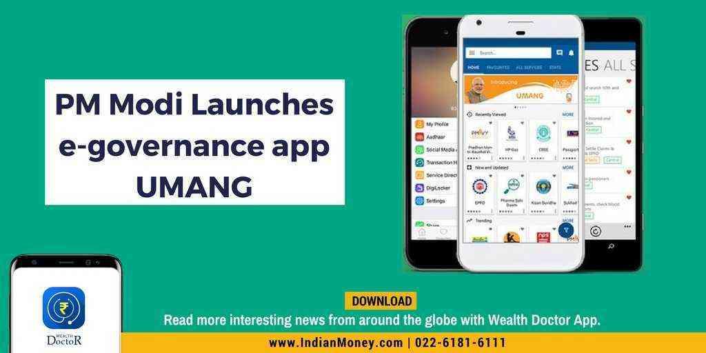 PM Modi Launches e-governance App UMANG