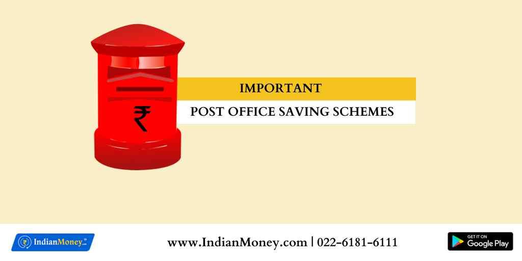 Important Post Office Saving Schemes