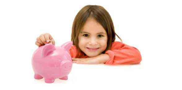 The need  to teach one's child  how to manage money at a young age