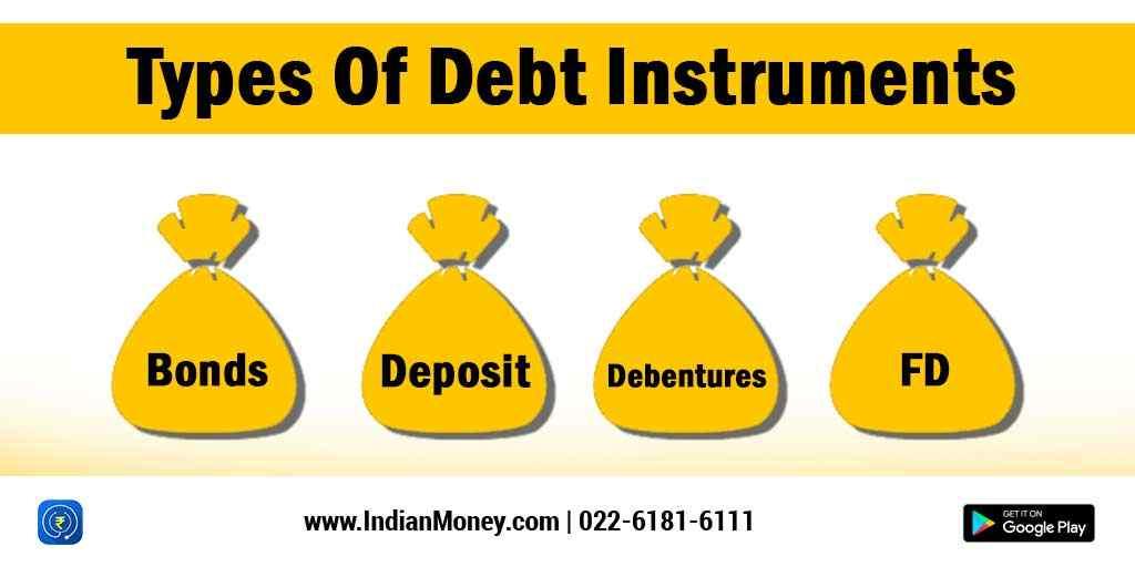 Indianmoney Types Of Debt Instruments