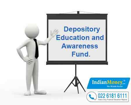 What is the Depository Education and Awareness Fund?