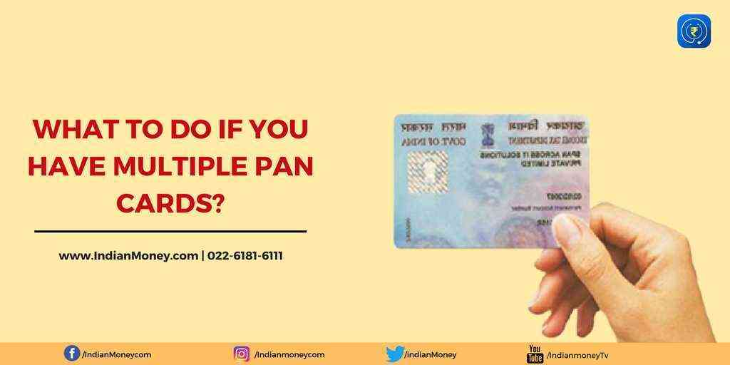 How To Surrender Multiple PAN Cards?
