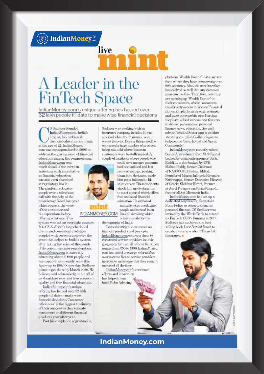 A Leader in the Fintech space