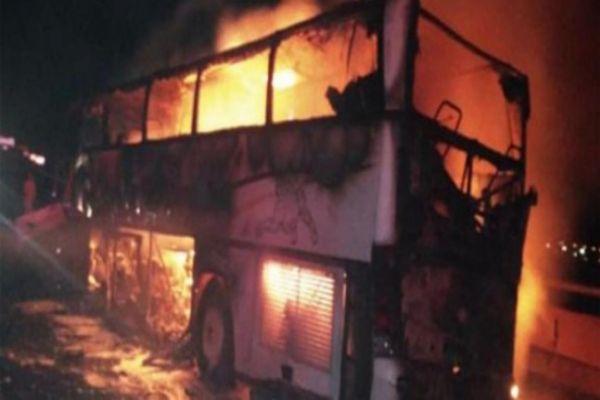 35 pilgrims killed in bus crash near Saudi holy city of Mecca