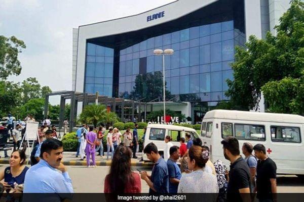 Chandigarh's Elante Mall Evacuated After Bomb Threat On Eid