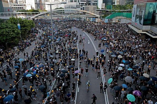 China Says Hong Kong Protests Show