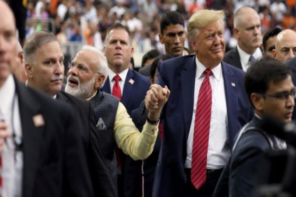 Terror, borders, chemistry dominate Modi, Trump speeches at Howdy, Modi